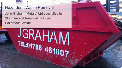metal recycling services stirling